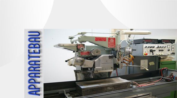 Profilschleifen mit den Profil-Flachschleifmaschinen Jung von Fremdwerkzeuge und Eigenwerkzeuge